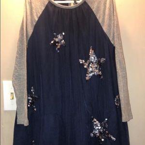 Mini boden tulle sequin dress